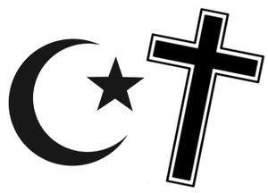 The Symbol of Christanity and Islam