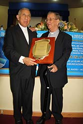 Dominican Republic - Award for Bishop Rivas, SDB